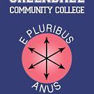 Greendale - E Pluribus Anus by jpvalery