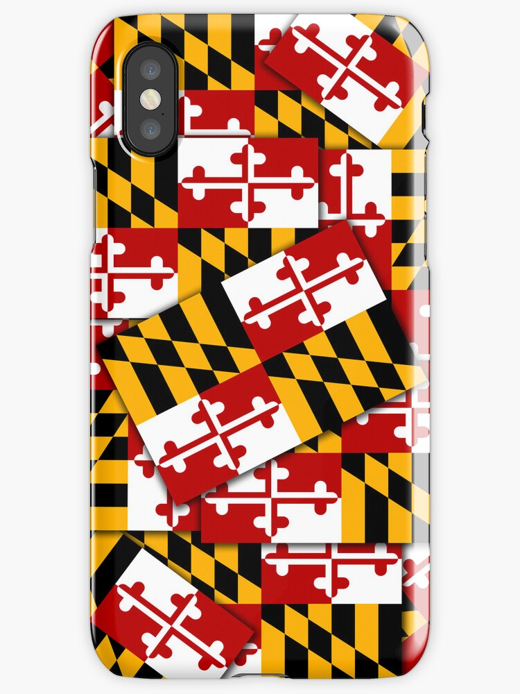 Smartphone Case - State Flag of Maryland  - Multiple by mpodger