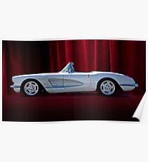 1959 Corvette Roadster VII Poster
