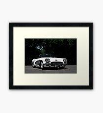 1959 Corvette Roadster VIII Framed Print