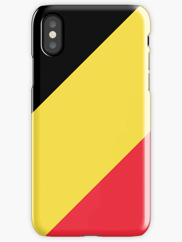 Smartphone Case - Flag of Belgium  - Diagonal by mpodger