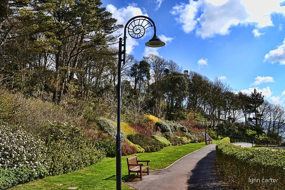 Lyme Town Gardens, Dorset UK by lynn carter