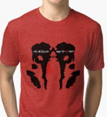What do you see? Tri-blend T-Shirt