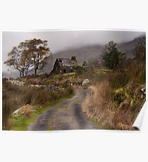 Black Valley Cottage Poster