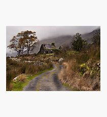 Black Valley Cottage Photographic Print