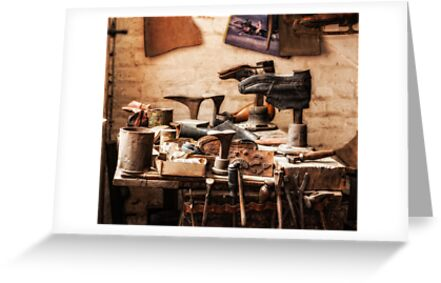 The Shoe Makers Shop by Patricia Jacobs DPAGB LRPS BPE4