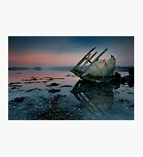 Stern Sunset Photographic Print