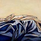 Portrait of Ophelia Dreaming by Leni Kae