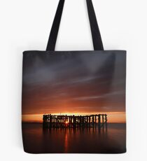 Pilot Pier (sunset) Tote Bag