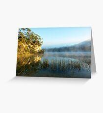 Blue Lake Tasmania Greeting Card