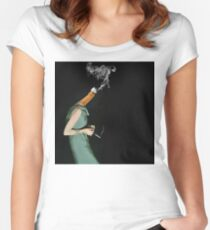 personal assassin Women's Fitted Scoop T-Shirt