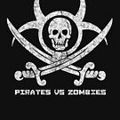 Pirates vs Zombies : Logo (light) with text by Zero Dean