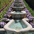 Garden Fountain by Gene Praag