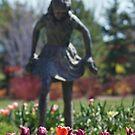 Garden Girl by Gene Praag