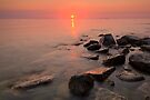 Door County, Sunset by Michael Treloar