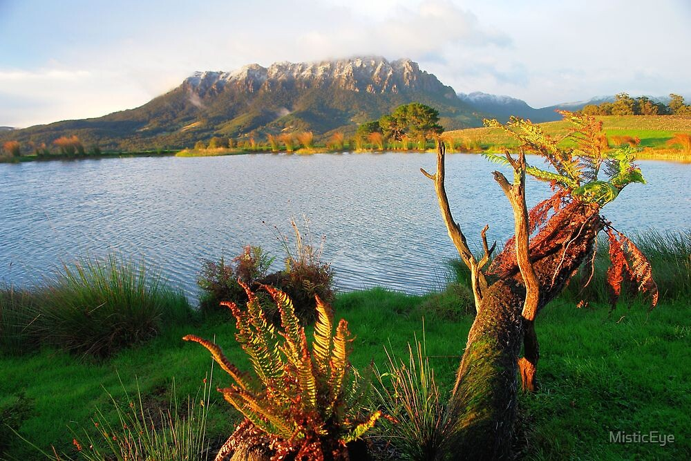 Mt Roland from Eagles Nest Retreat  Tasmania by MisticEye