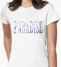 paradise Women's Fitted T-Shirt
