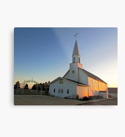 Zion Lutheran Church Metal Print