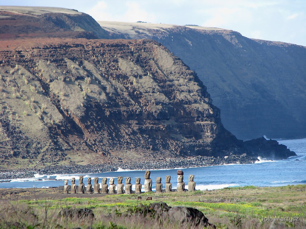 Easter Island Requiem by Jola Martysz