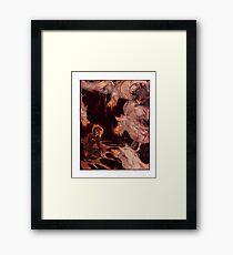 FURY Framed Print
