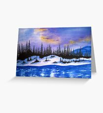 Canadian wilderness Greeting Card