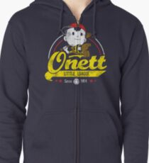 Onett little league Zipped Hoodie