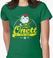 Onett little league Womens Fitted T-Shirt