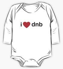 I Love DNB One Piece - Long Sleeve