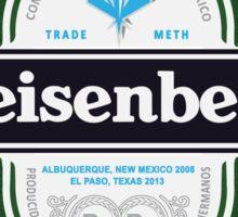 heisenberg logo - breaking bad Sticker
