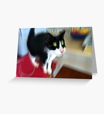 did someone mention DINNER? Greeting Card