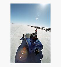 Ford Hot Rod on the salt 1 Photographic Print