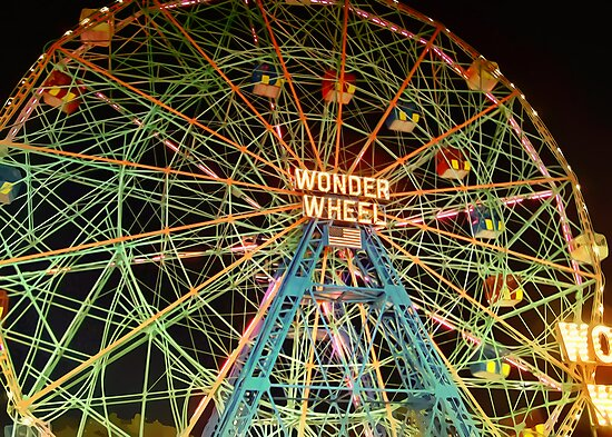 New York - Coney Island by harietteh