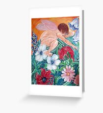 Faerie dell Greeting Card