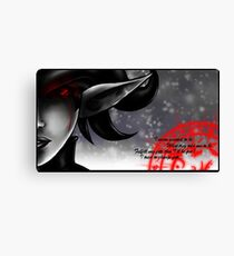 saddness Canvas Print