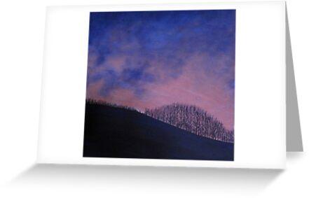 Fingask sunset by Yorkspalette