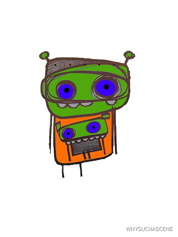 ROBOT by WHYSUCHASCENE