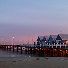 Sunrise at Busselton Jetty  by autumnleaf