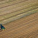 Ploughing in West Berkshire by mlphoto