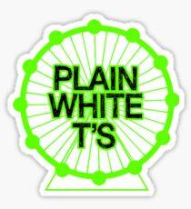 Plain White T's Sticker