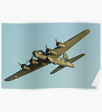 Boeing B17 Bomber Sally B Poster