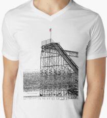 The Jet Star Rises Men's V-Neck T-Shirt