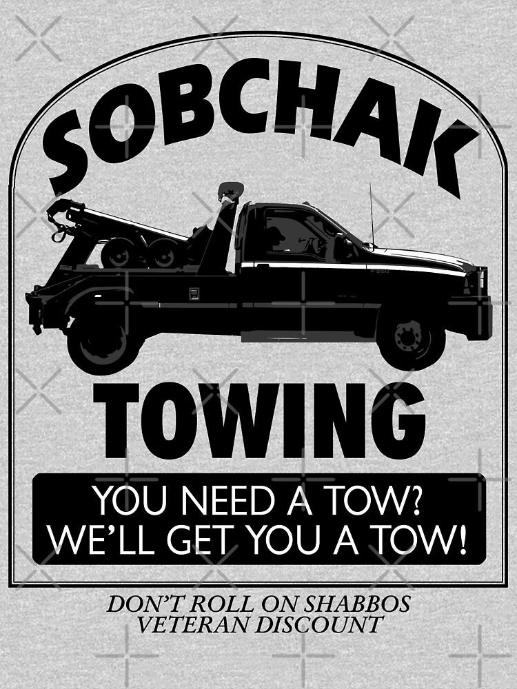 El gran Lebowski inspirado - Sobchak Towing - ¿Quieres un dedo del pie? de traciv