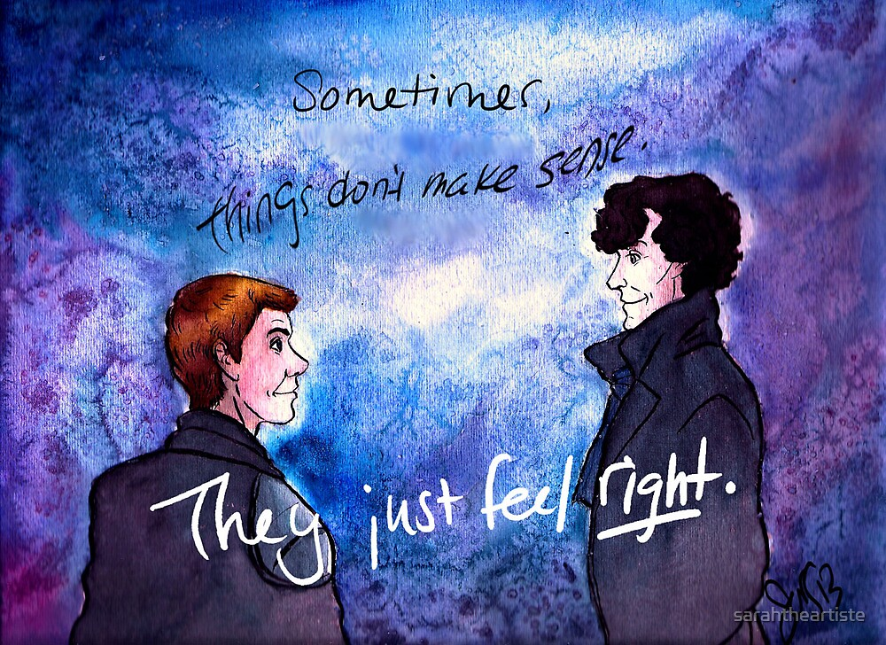It Just Feels Right by sarahtheartiste