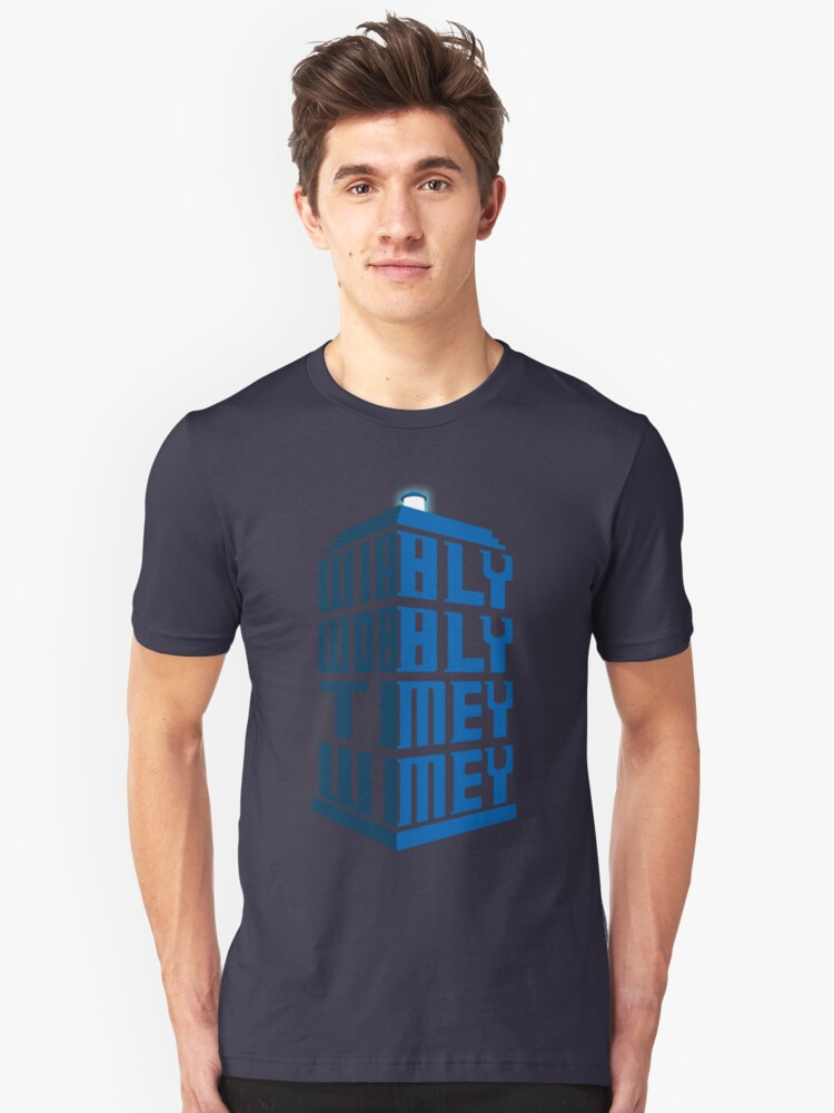 Wibbly wobbly Unisex T-Shirt Front