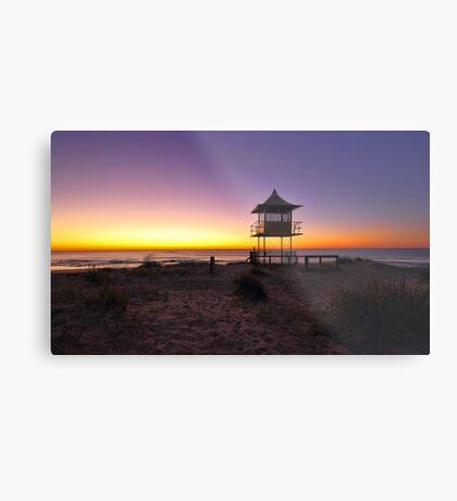 The Entrance Beach Sunrise Metal Print