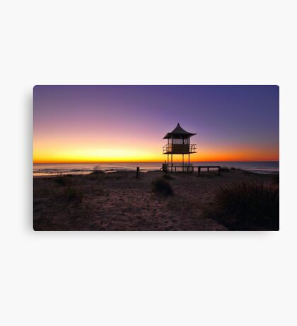 The Entrance Beach Sunrise Canvas Print
