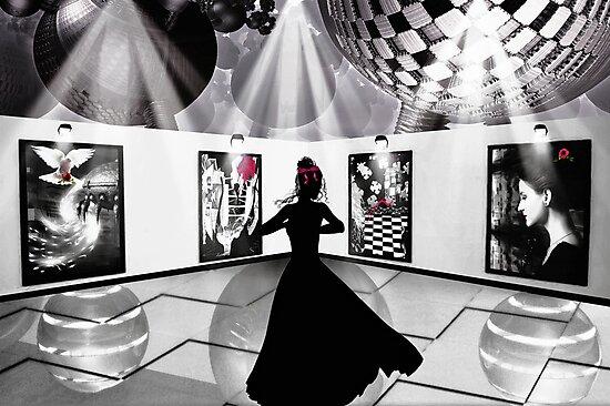 Pictures At An Exhibition... by Karen  Helgesen