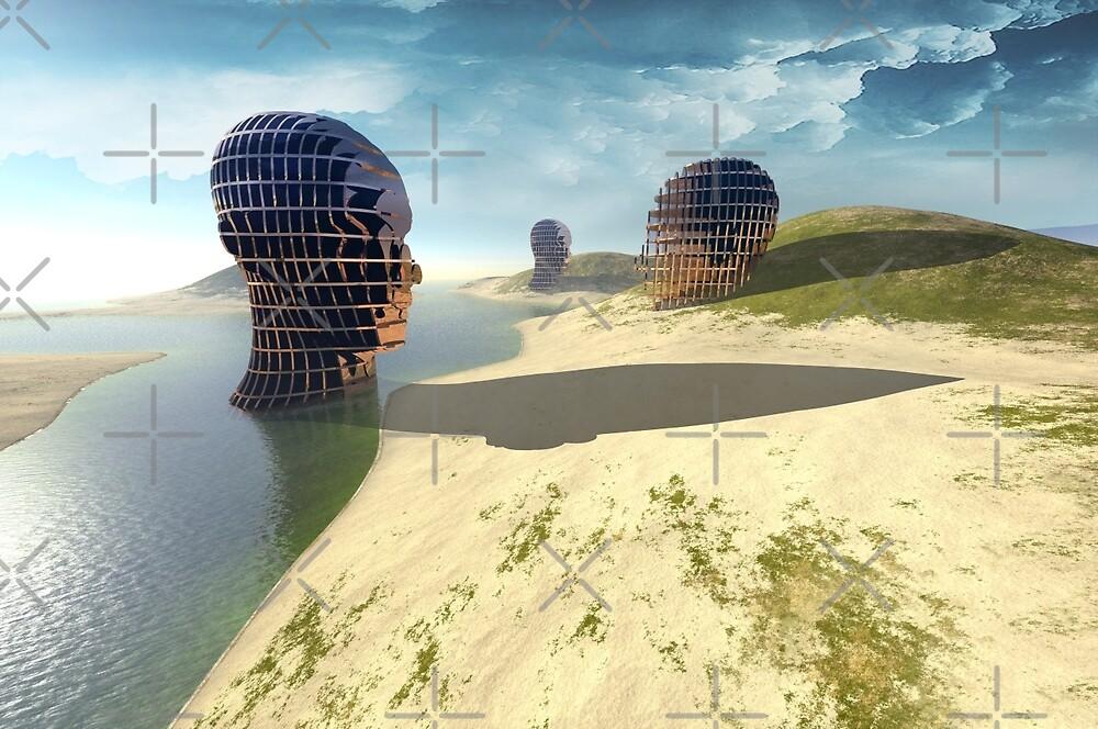 mesh island by Vin  Zzep