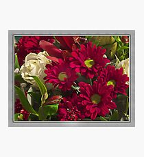 Flowers today Photographic Print
