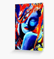 """""""Dream within a dream"""" Greeting Card"""